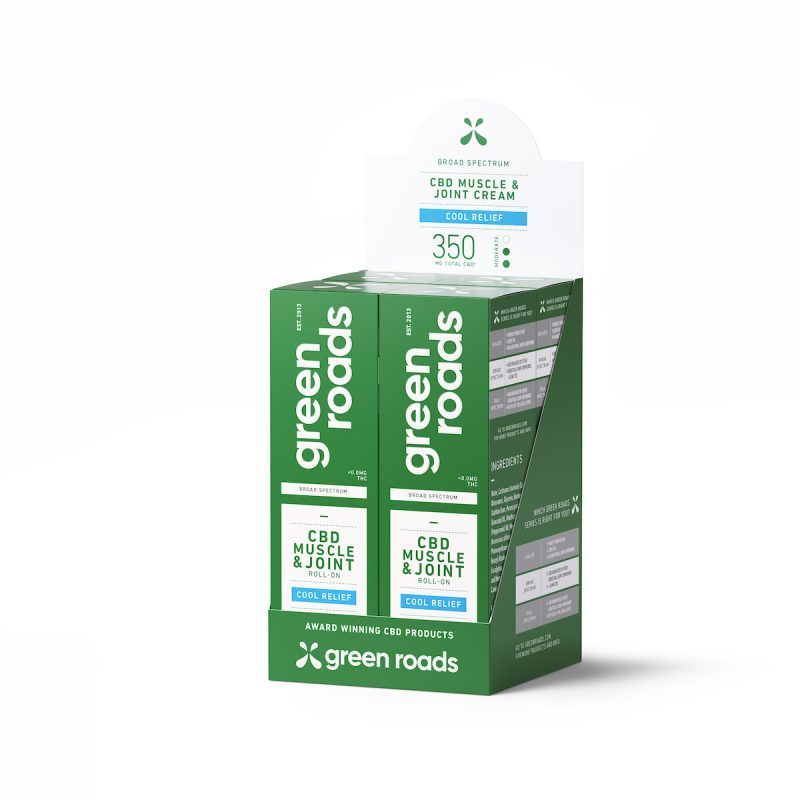 Broad Spectrum - Cool Relief Muscle & Joint - 350mg - 4pk